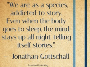Addicted to stories